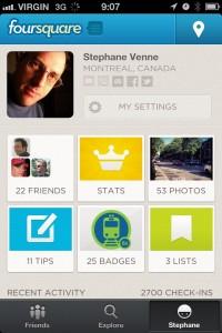 foursquare 5 screenshoot