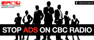 Say NO to ads on CBC Radio